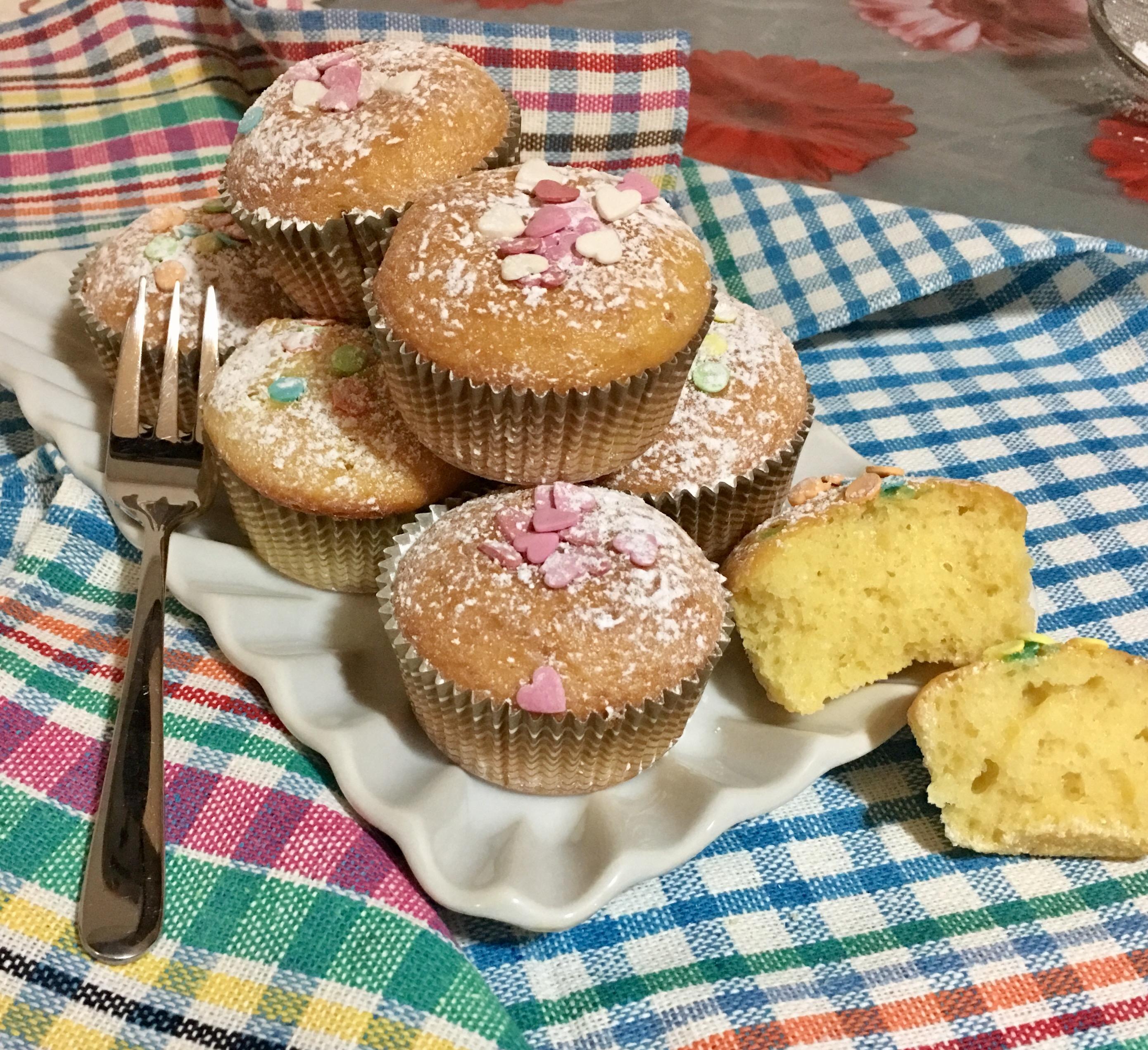 Ricetta Muffin Velocissimi.Muffins Velocissimi Una Pigra In Cucina