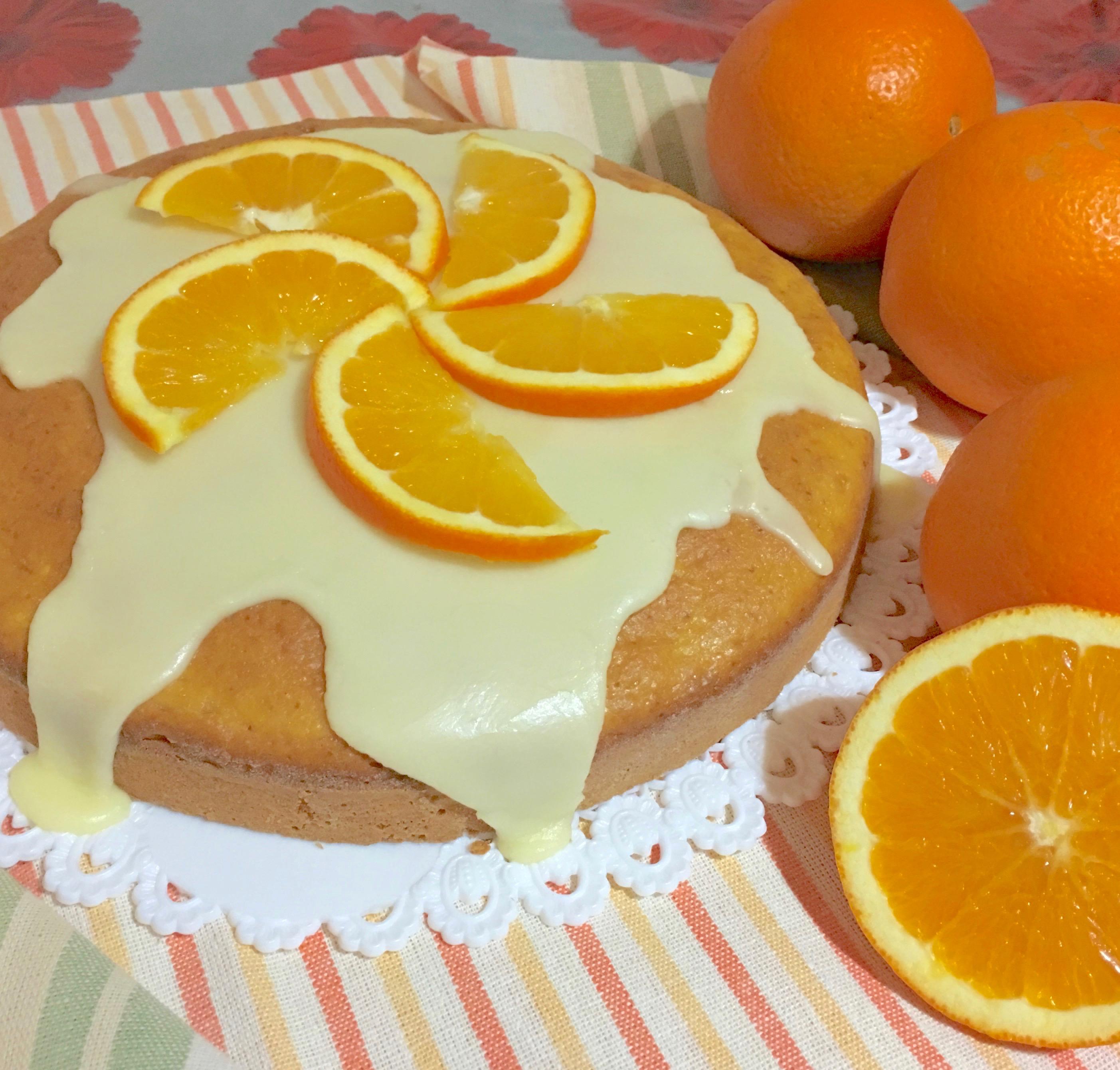 Torta Pan Darancio Senza Latte E Burro Una Pigra In Cucina